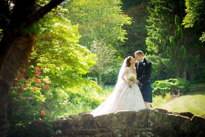 Wedding Photography at Rufflet's Hotel – Grant and Johanna