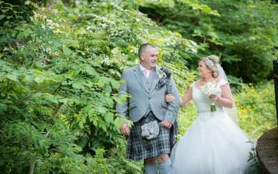 Wedding Photography at Crossbasket Castle – Brian and Nicola