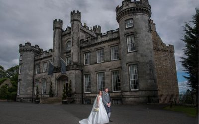 Wedding Photography at Airth Castle – Marc and Claire