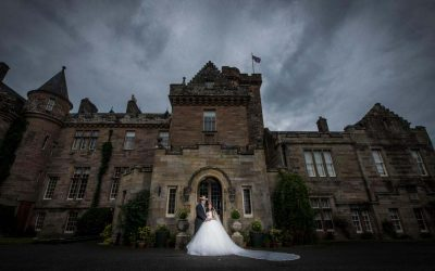 Wedding Photography at Glenapp Castle – Robert and Wijdan