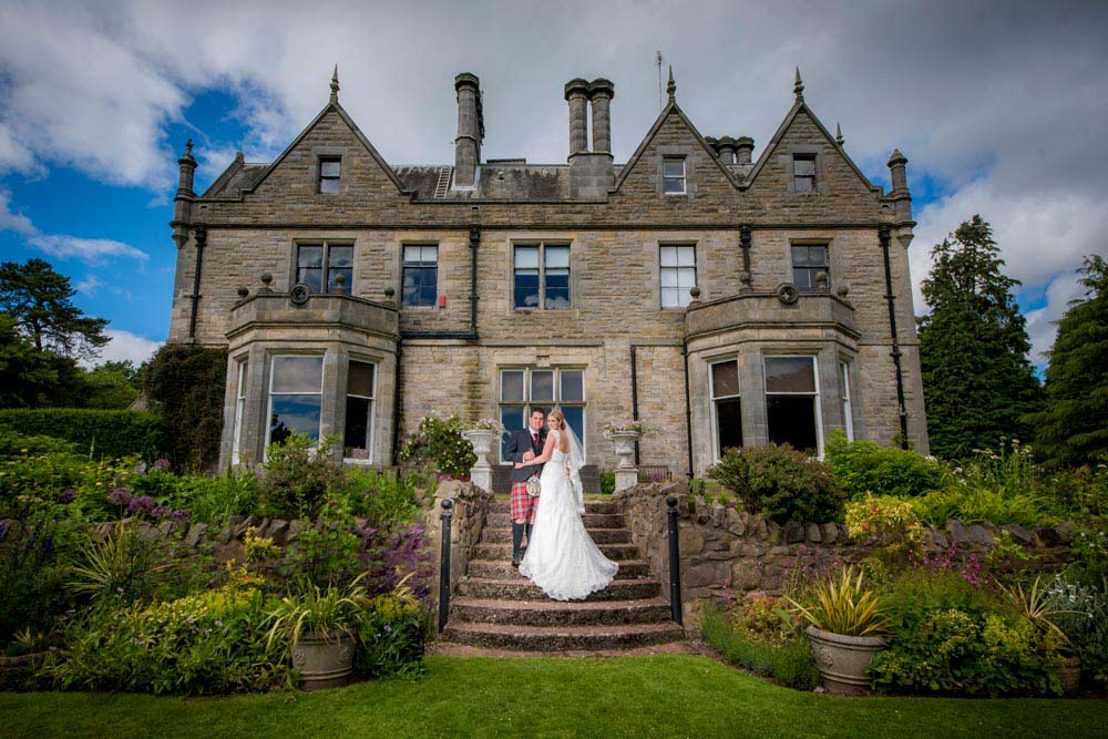 WEDDING PHOTOGRAPHY AT Craigsanquhar House – Nick & Alison